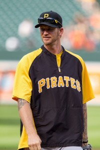 A.J. Burnett with the Pittsburgh Pirates - Photo Credit: Keith Allison