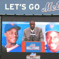 Dwight Gooden Mets Hall of Fame Speech