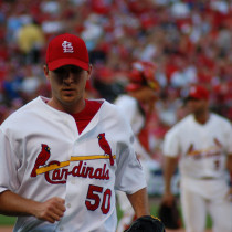 Adam Wainwright - Photo Credit - Dave Herholz