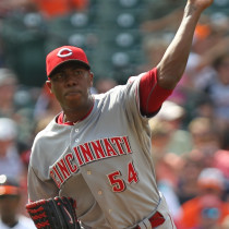 Cincinnati Reds closer Aroldis Chapman - Photo Credit - Keith Allison