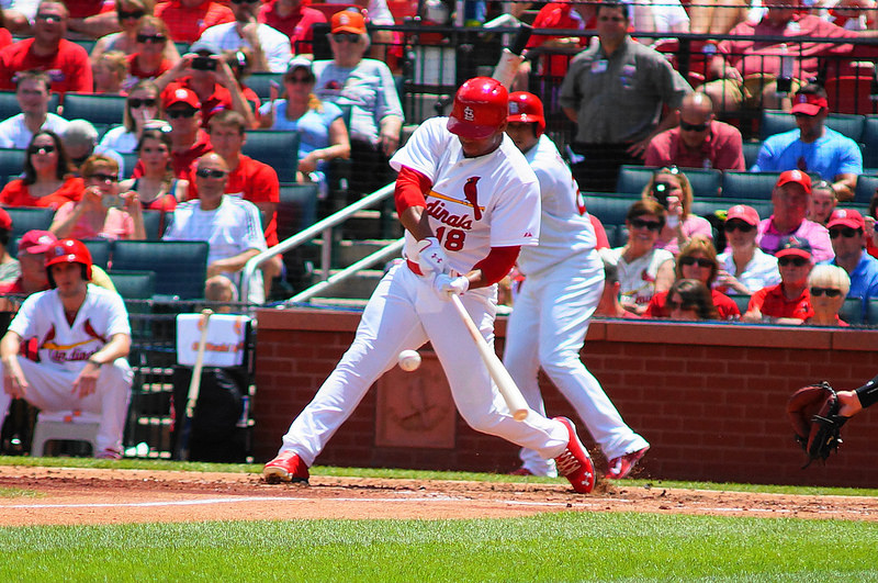 St. Louis Cardinals Oscar Taveras - Photo Credit - Alex Lewis