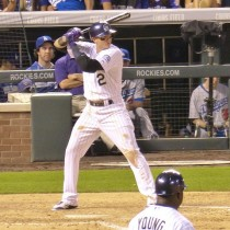 Troy Tulowitzki Rockies Home Game