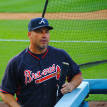 Fredi Gonzalez Braves - Photo Credit - LWYang