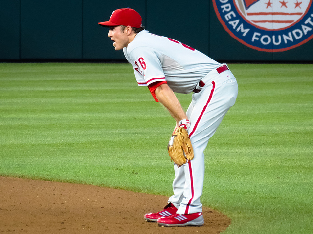 Chase Utley  - Photo Credit - Matthew Straubmuller