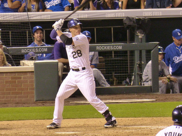 Nolan Arenado - Photo Credit - James Bailey