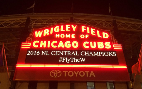 Chicago Cubs: NL Central Champs!