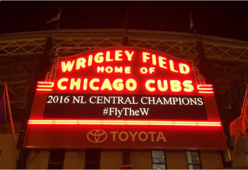 Cubs Clinch NL Central