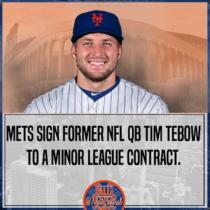 Tim Tebow Mets