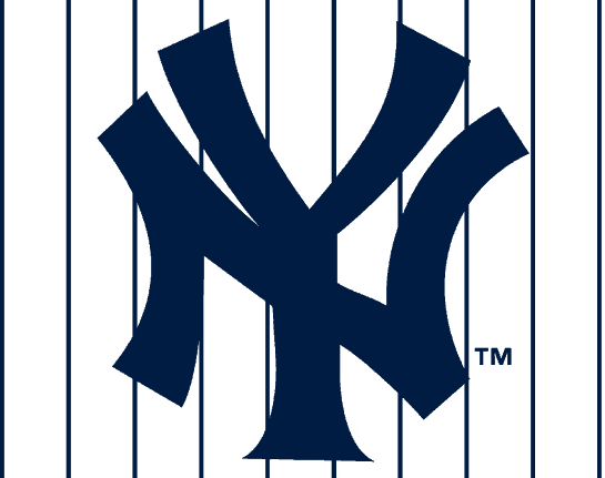 New York Yankees Pinstripe Logo