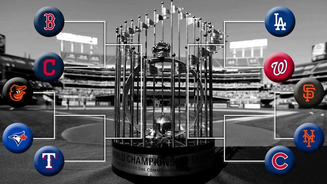 2016 MLB Playoff Bracket