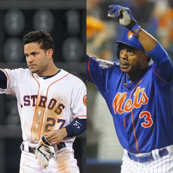 Jose Altuve is Player of the Year and Curtis Granderson is Marvin Miller Man of the Year
