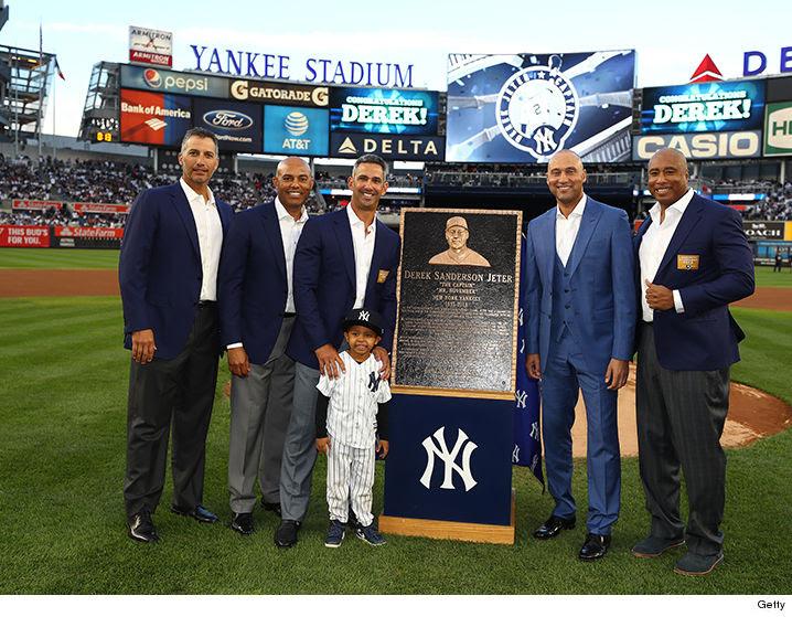 Derek Jeter's Number Retired